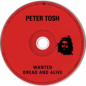 Peter Tosh: Wanted Dread & Alive (CD) - Bild 2