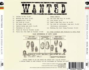 Peter Tosh: Wanted Dread & Alive (CD) - Bild 5