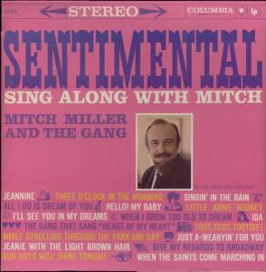 Cover - Mitch Miller & The Gang: Sentimental Sing Along With Mitch