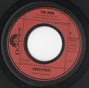 "The Who: Golden Greats: Substitute / My Generation (7"") - Bild 4"