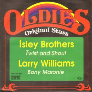 "The Isley Brothers / Larry Williams: Twist And Shout (Split-7"") - Bild 1"