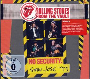 The Rolling Stones: From The Vault - No Security San José '99 (2-CD + DVD) - Bild 1