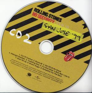 The Rolling Stones: From The Vault - No Security San José '99 (2-CD + DVD) - Bild 4