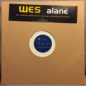 Cover - Wes: Alane (Trouser Enthusiasts Remixes)