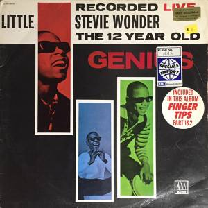 Cover - Little Stevie Wonder: Recorded Live: The 12 Year Old Genius
