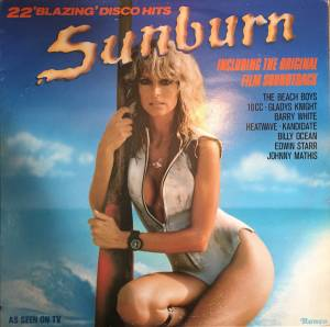 Cover - Storm: Sunburn - 22 'Blazing' Disco Hits Including The Original Soundtrack