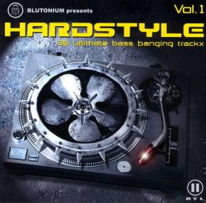 Cover - Derb: Hardstyle - 36 Ultimate Bass Banging Trackx Vol.1
