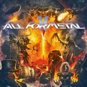 Cover - New Black, The: All For Metal V