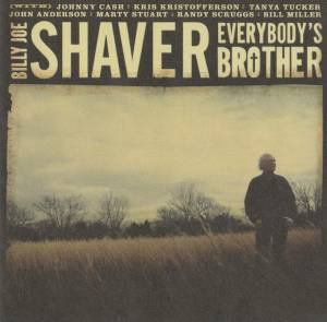 Cover - Billy Joe Shaver: Everybody's Brother