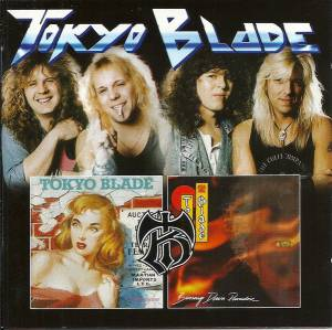 Cover - Tokyo Blade: No Remorse / Burning Down Paradise