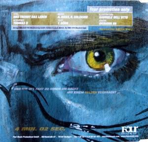 Thomas D: Uns Trennt Das Leben (Promo-Single-CD) - Bild 2