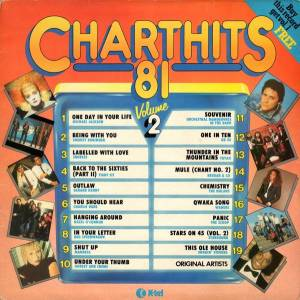 Cover - Starsound: Chart Hits '81 Volume 2