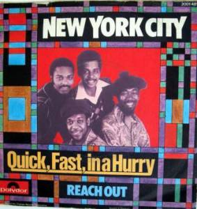 Cover - New York City: Quick, Fast, In A Hurry