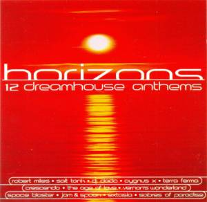 Cover - Space Blaster: Horizons - 12 Dreamhouse Anthems
