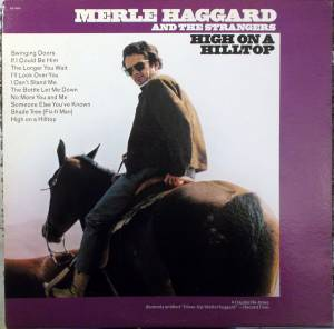 Cover - Merle Haggard And The Strangers: High On A Hilltop