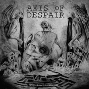 Axis Of Despair: Contempt For Man (2018) - Cover