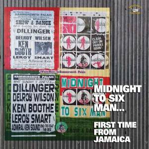 Cover - Delroy Wilson: Midnight To Six Man... First Time From Jamaica