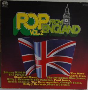 Pop From England Vol. 2 - Cover