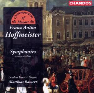 Cover - Franz Anton Hoffmeister: Symphonies