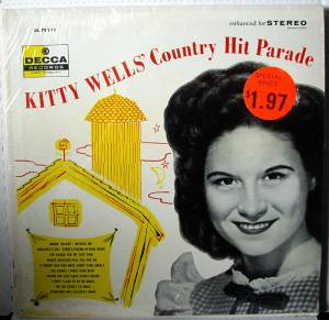 Cover - Kitty Wells: Kitty Wells' Country Hit Parade