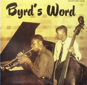 Cover - Donald Byrd: Byrd's Word