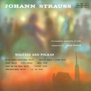 Cover - Johann Strauss (Vater): Waltzes And Polkas