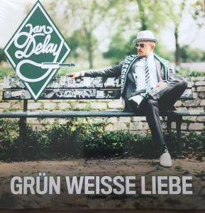Jan Delay: Grün Weisse Liebe - 7 (2018, Grünes Vinyl)