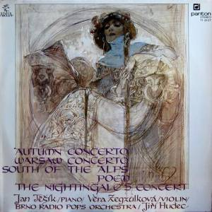 Cover - Ernst Fischer: Autumn Concerto / Warsaw Concerto / South Of The Alps / Poem / The Nightingale's Concert