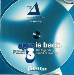 Cover - Anthony Holborne: Audiophile Recordings Vol. 3; Ausgabe 3/2003 Opus3 Is Back