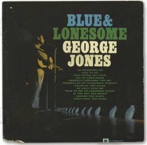 Cover - George Jones: Blue & Lonesome
