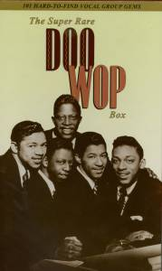 Cover - Velours, The: Super Rare Doo Wop Box, The