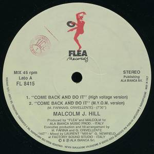 Cover - Malcolm J. Hill: Come Back And Do It