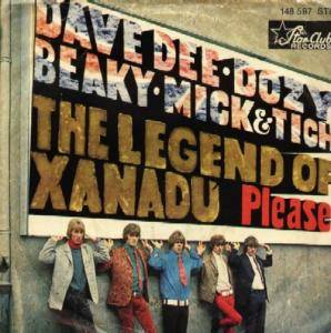 Dave Dee, Dozy, Beaky, Mick & Tich: Legend Of Xanadu, The - Cover