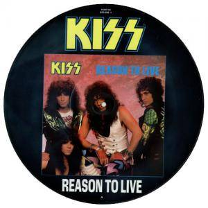 KISS: Reason To Live - Cover
