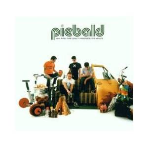 Cover - Piebald: We Are The Only Friends We Have