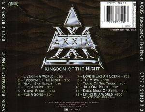 Axxis: Kingdom Of The Night (CD) - Bild 2
