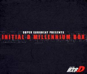 Cover - Jilly: Super Eurobeat Presents Initial D Millennium Box