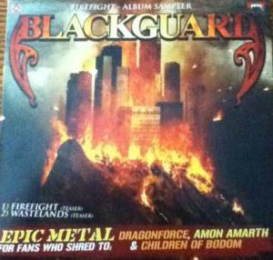 Cover - Blackguard: Firefight - Album Sampler