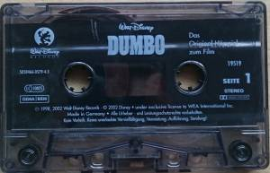Walt Disney: Dumbo (Tape) - Bild 4