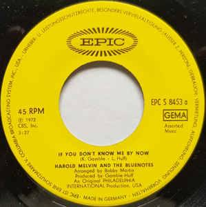 "Harold Melvin And The Bluenotes: If You Don't Know Me By Now (Promo-7"") - Bild 3"