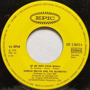 "Harold Melvin And The Bluenotes: If You Don't Know Me By Now (Promo-7"") - Bild 4"