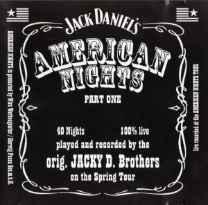 Jacky D. Brothers: American Nights, Part One (CD) - Bild 1