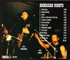Jacky D. Brothers: American Nights, Part One (CD) - Bild 2