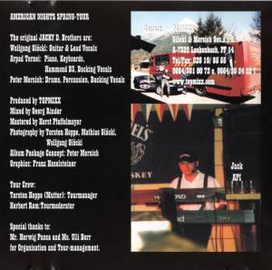 Jacky D. Brothers: American Nights, Part One (CD) - Bild 6