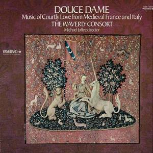 Cover - Jacopo da Bologna: Douce Dame / Music Of Courtly Love From Medieval France And Italy