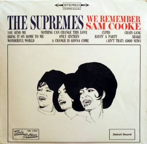 Cover - Supremes, The: We Remember Sam Cooke