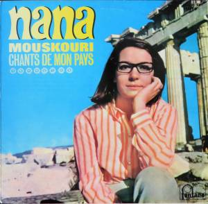 Cover - Nana Mouskouri: Chants De Mon Pays