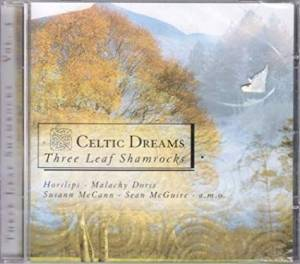 Cover - Susan McCann: Celtic Dreams - Three Leaf Shamrocks Vol. 3