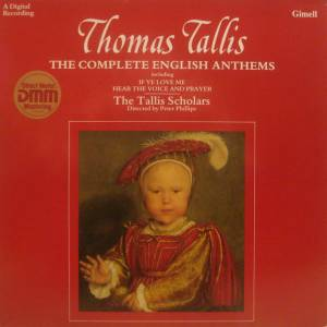 Cover - Thomas Tallis: Complete English Anthems, The