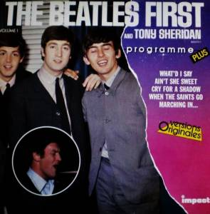 Cover - Beatles & Tony Sheridan, The: First - Volume 1